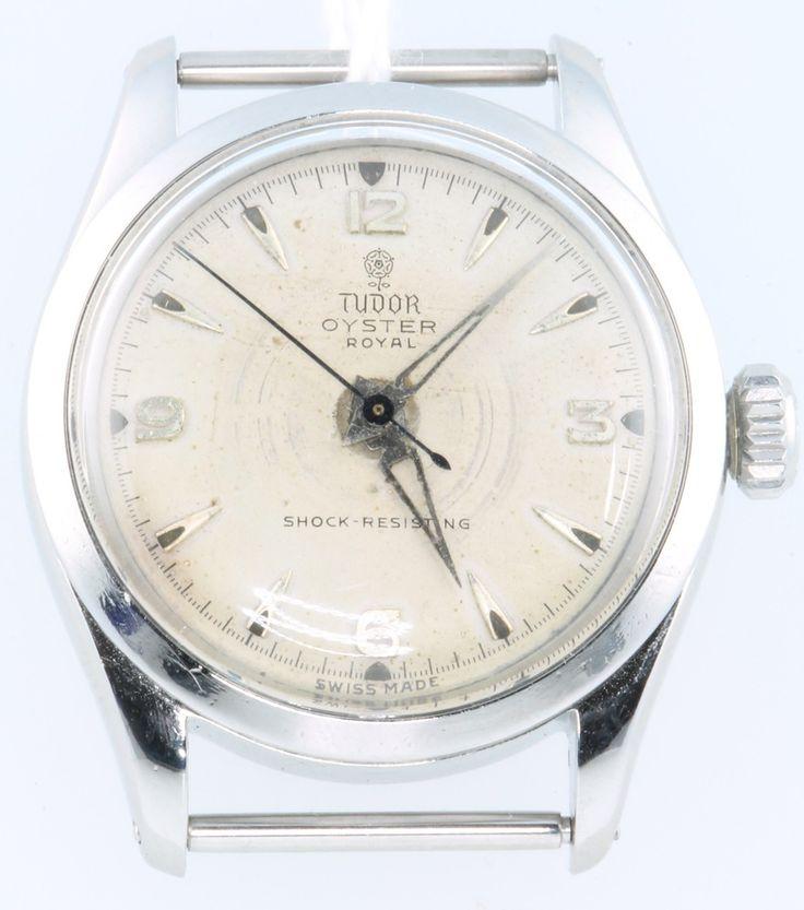 Lot 746U, A gentleman's steel cased Tudor Oyster Royal wristwatch, est £200-250