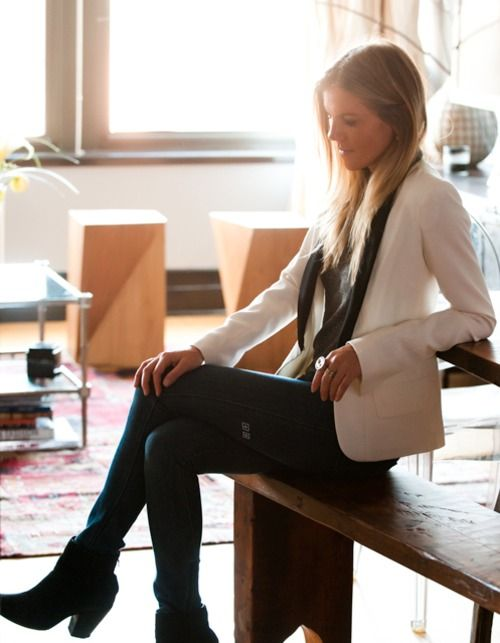 <3: Tuxedo Jackets, Outfits, White Blazers, Fashion Style, Kate Ciepluch, Fashion Inspiration, Closet, Tuxedos