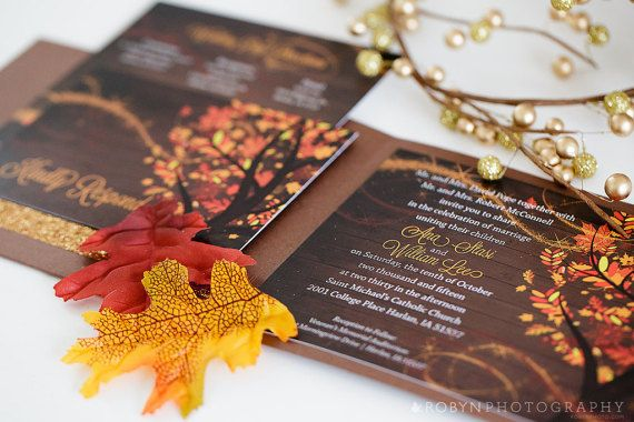 Fall Color Wedding Invitations: Best 25+ Fall Wedding Invitations Ideas Only On Pinterest