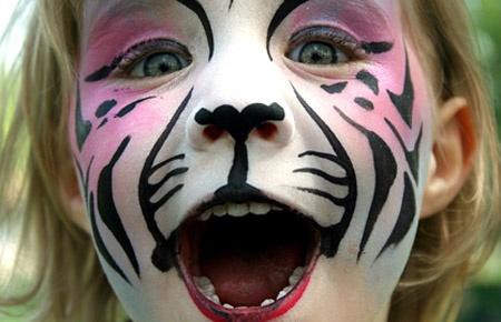 ..: Make Up, Children Make Up, Faces Paintings, Maquillag Artistiqu, Faces Makeup, Facepaint, Tigers, Cat Faces, Maquillage Artistique