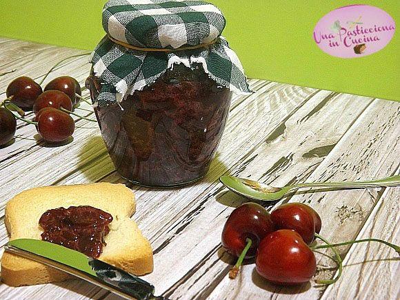 Marmellata+di+Ciliegie+senza+Zucchero