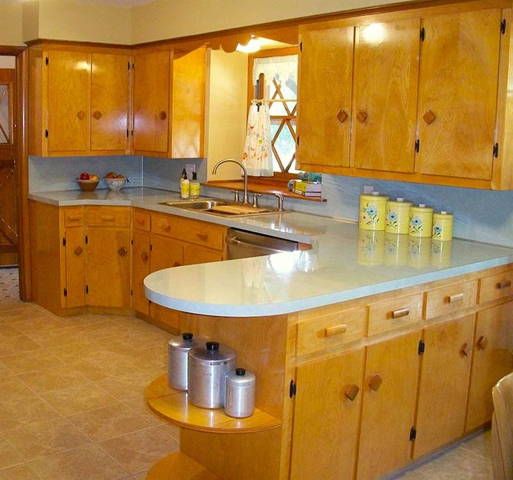 1950s Kitchen Cabinets: 13 Best Kitchens Images On Pinterest