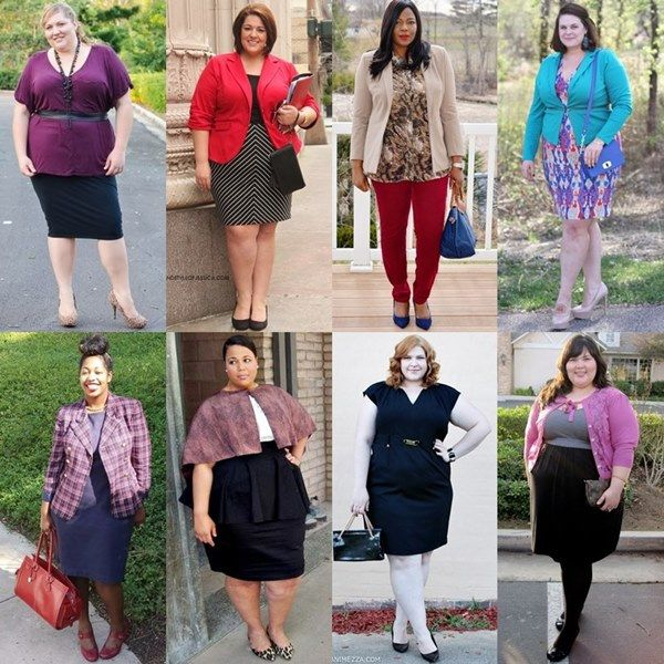 Office Work Outfits Plus Size Blogger Fashion