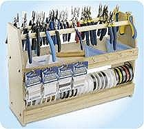 17 best images about looking for ideas to store coils of for Jewelry making supply store