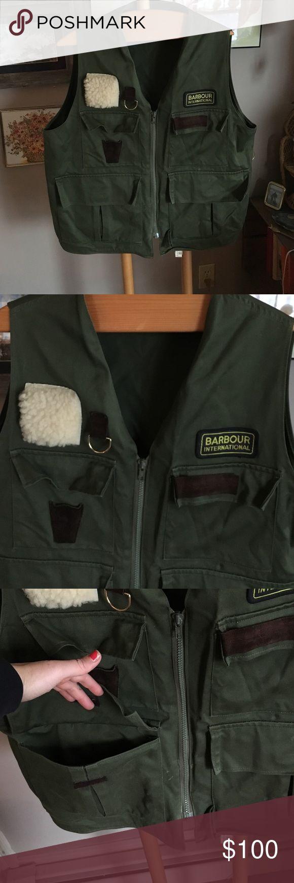 Barbour vest Epic vintage Barbour fly fishing vest! This beat is great for adventures! Lots of pockets! Barbour Jackets & Coats Vests