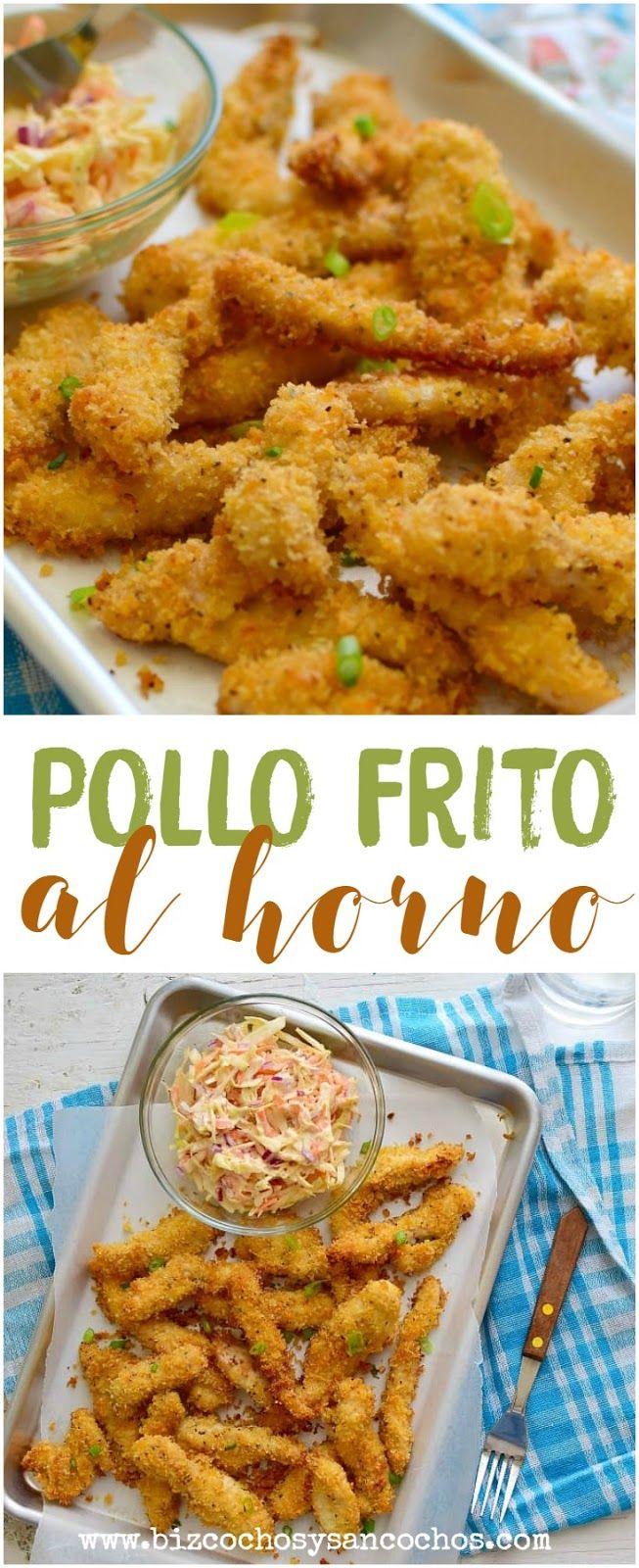 Pollo Frito Al Horno Bizcochos Y Sancochos Pollo Frito Al Horno Pollo Frito Pollo Crujiente Al Horno