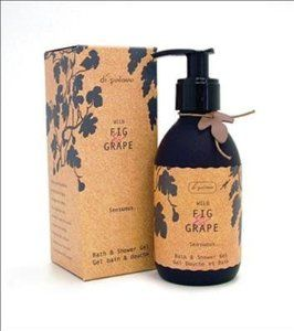 Wild Fig & Grape By Di Palomo. Sensuous Bath & Shower Gel 8.3 Ounces by Di Palomo. $12.51. Sensuous Bath & Shower Gel. Top notes of grape and gardenia. Middle notes of ripe fig, orange blossom & mimosa rest on a sensual base of sandalwood amber & vanilla.