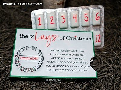 12 Lays of Christmas--Romantic Countdown for your spouse: Love Actual, Christmas Surprise, Cute Idea, Christmas Gifts For Husband, Diy'S Husband Christmas Gifts, 12 Lay, Gifts Idea, Thoughts Gifts For Husband, Husband Gifts