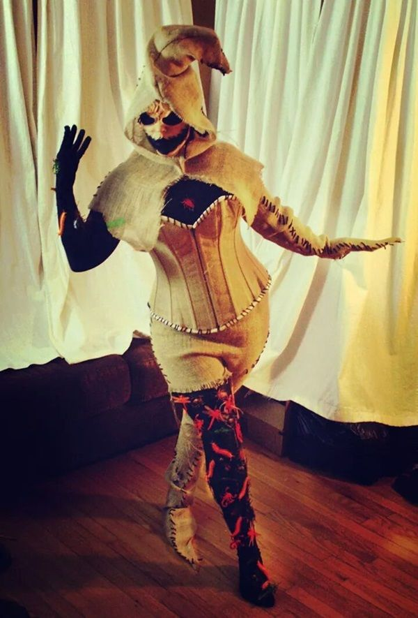 Lady Oogie Boogie Is Stylishly Scary [Cosplay]