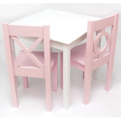 Lipper International Kid's Table and Chair Set $162