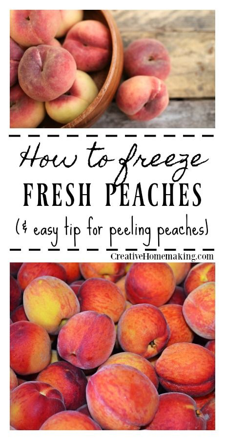 Easy Tip For Freezing Peaches With Fruit Fresh So You Can Have All Winter Long Smoothies And Your Favorite Homemade Desserts