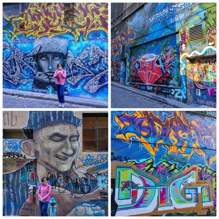 Hosier Lane Street Art, Victoria, Melbourne