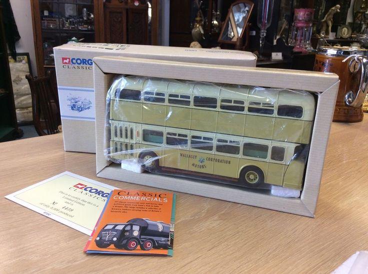 1993 Wallasey Corporation Corgi Classics Leyland Atlantean Bus Mint Boxed Model | eBay