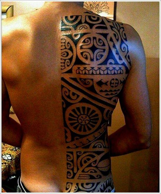 Maori Tribal Tattoo Designs Tips: Amazing Maori Tribal Tattoo Ideas For Men On Back ~ Tattoo Design Inspiration