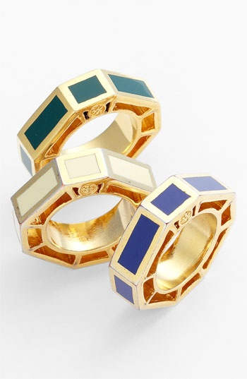 Tory Burch 'Rylan' Ring available at #Nordstrom....Tory Burch+ Rhylan = necessity