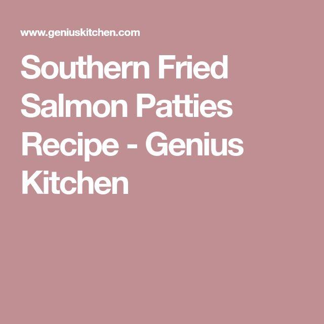 Southern Fried Salmon Patties Recipe - Genius Kitchen