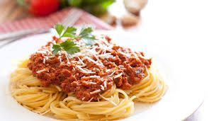 I love pasta and spaghetti!!! Spaghetti bolognaise is one of my favourites!!