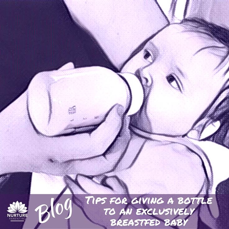 I had a couple of phone calls this week from mums who tried to give their 2 and 3-month-old babies a bottle. These babies had been totally breastfed and both mums needed to give a bottle to the baby so they could exercise/go to the gym and/or go back to work. And guess what? It was stressful and involved lots of tears. Not good for mum or baby. Read more: https://www.nurtureparenting.com.au/giving-a-bottle-to-a-mainly-breast-fed-baby/