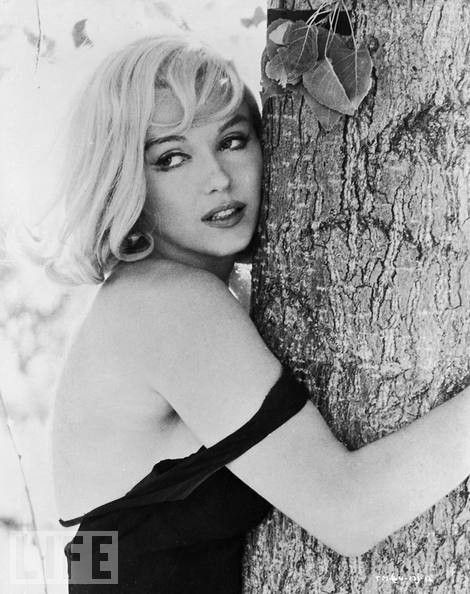 .Marilyn Monroe, 1961. Photograph by Henri Cartier-Bresson.