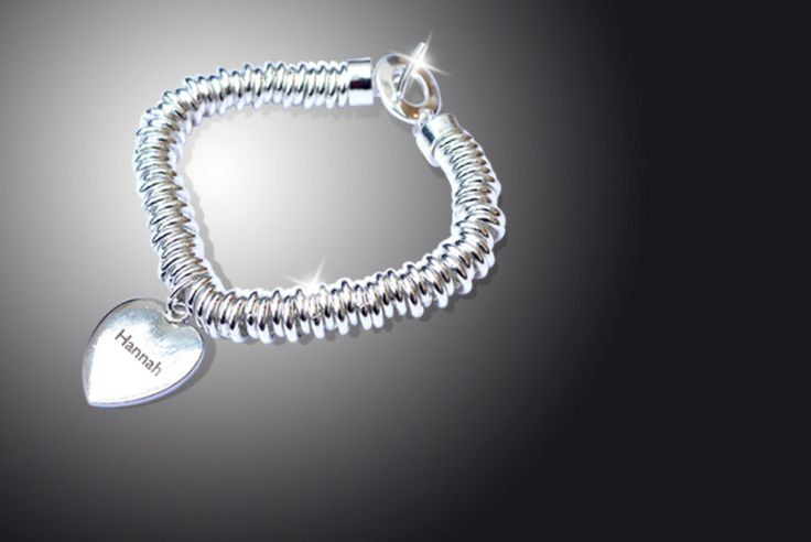 Personalised Valentine's Charm Bracelet