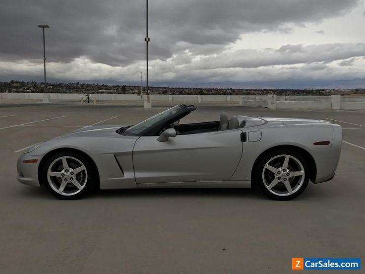 2006 Chevrolet Corvette Convertible 2-Door #chevrolet #corvette #forsale #unitedstates