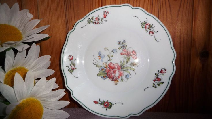 Vintage 5 French Milk Glass White Floral Plates Arcopal Provincial France by Grandchildattic on Etsy