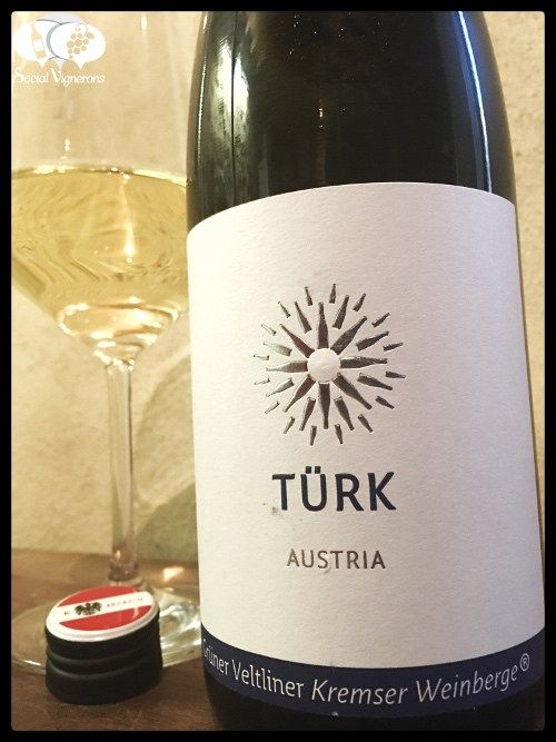 Score 88/100 Wine review, tasting notes, rating Türk Grüner Veltliner Kremser Weinberge Kremstal. Description of aroma, flavors. Join the experience.