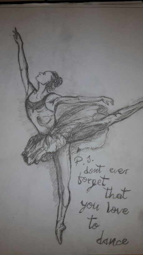 Ballerina sketch #WW #Sketch