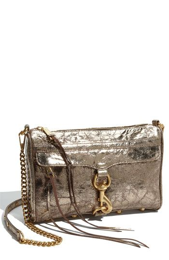 metallics and rebecca minkoff, 2 of my favorite things!