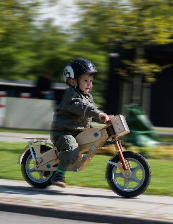 Fast kid on Blinkenbike #balance bike #prebike