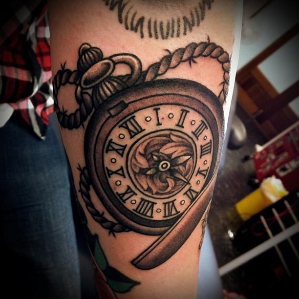 Pocket watch tattoo | Tattoos