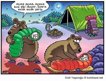 Sıcak Yemek -Komik karikaturler