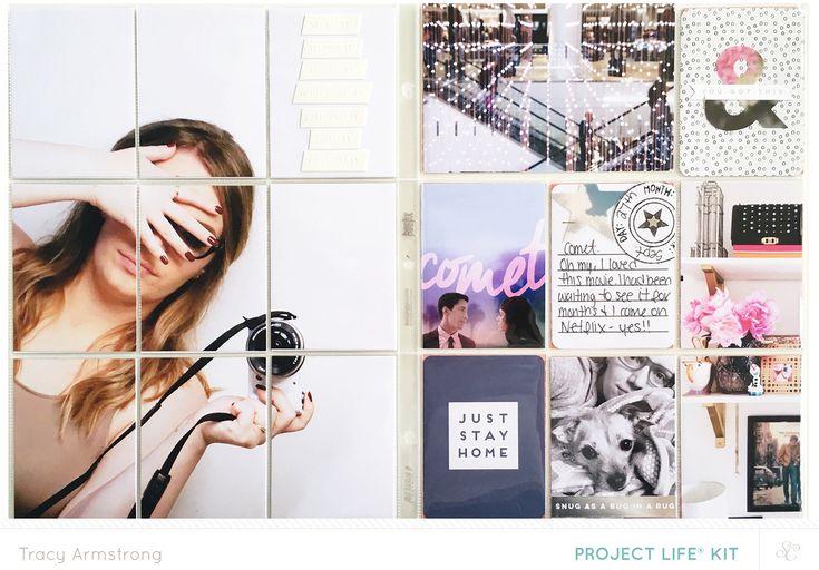 Blog: Video: Cómo crear un Guiño Guiño Proyecto Life ® Layout - Scrapbooking Kits, Papel y Suministros, Ideas y más en StudioCalico.com!