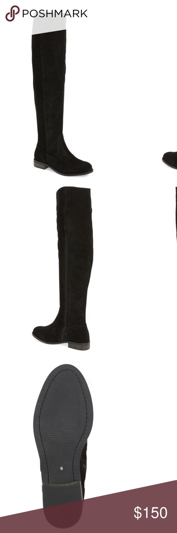 Seychelles boots Seychelles black NWT over the knee or you can scrunch down Seychelles Shoes Over the Knee Boots