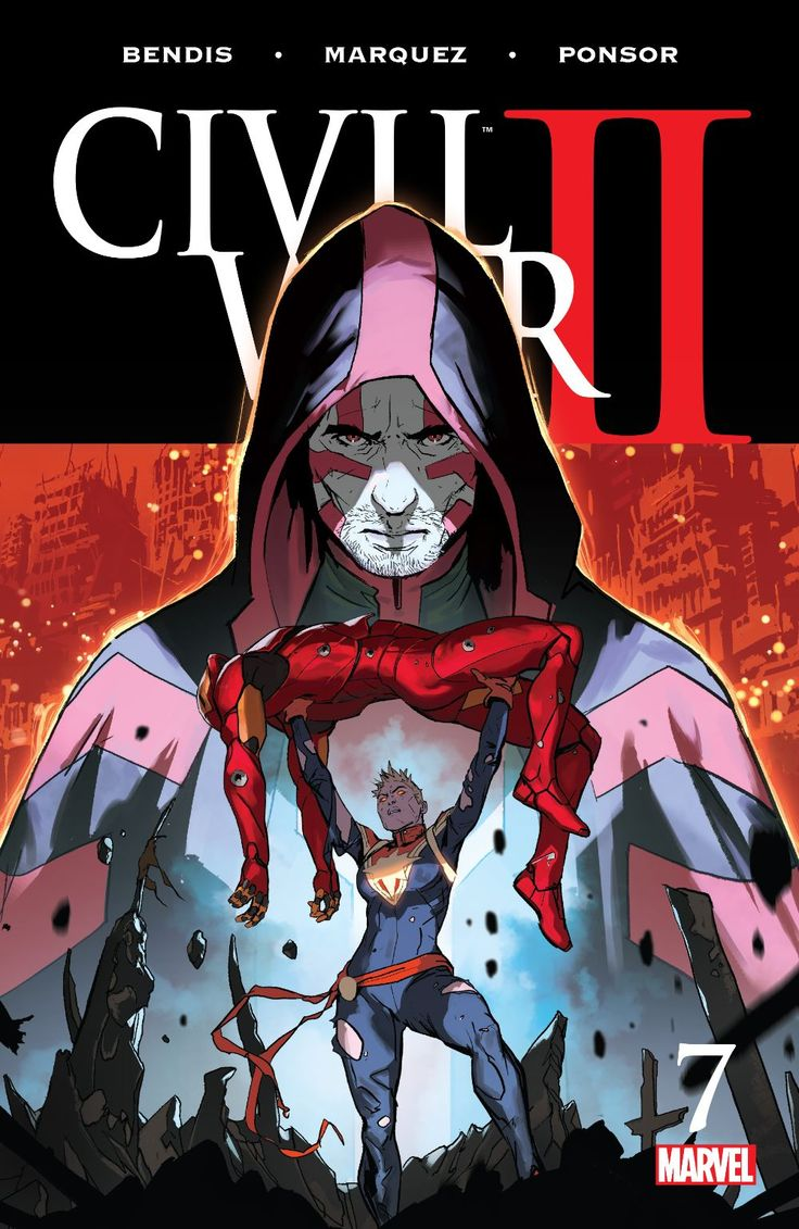 Civil War II (2016-) #7 (of 8) Written by: Brian Michael Bendis Art by: David Marquez 11/17/2016