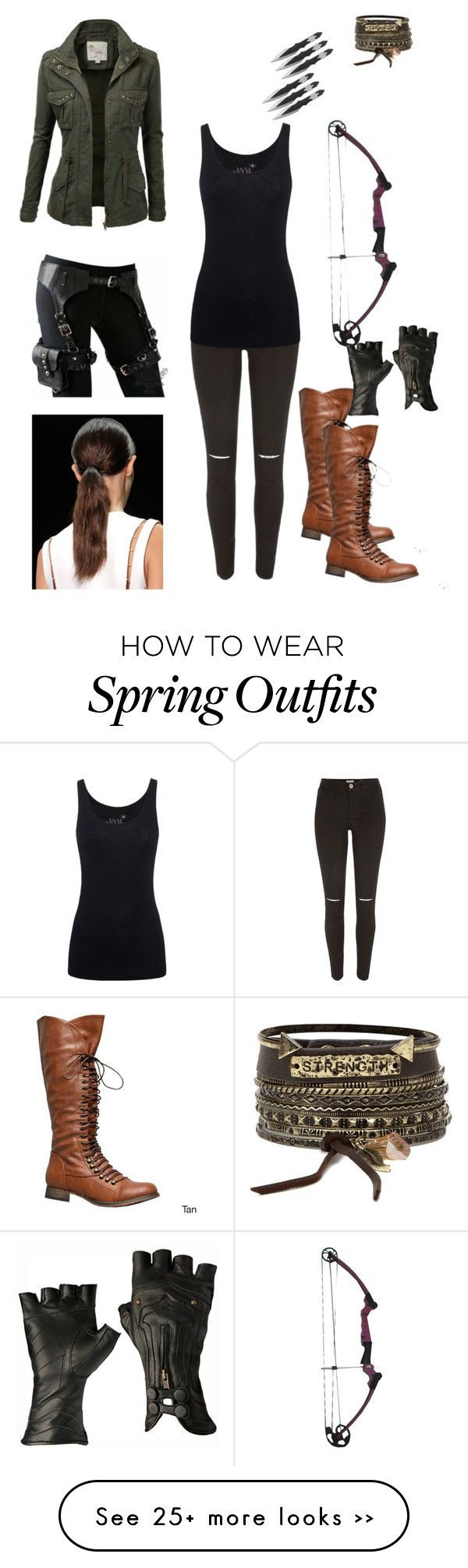 """""""My outfit if I was in maze runner"""" by lopezfamily-1 on Polyvore featuring River Island, Juvia, J.TOMSON and BKE"""