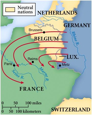 The Schlieffen Plan Was Planed Out By Alfred Von Schlieffen To Defeat And Overcome France And
