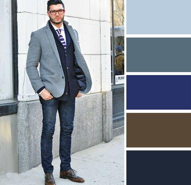 Идеальное сочетание цветов в мужской одежде.. Обсуждение на LiveInternet - Российский Сервис Онлайн-Дневников