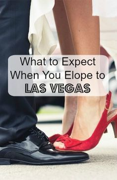 How to elope to Las Vegas