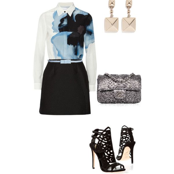 A fashion look from February 2015 featuring Victoria, Victoria Beckham dresses, Brian Atwood shoes and Valentino earrings. Browse and shop related looks.