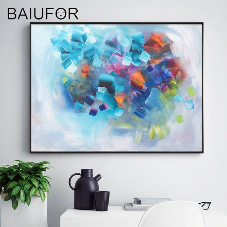 BAIUFOR 80*60cm 5d DIY Diamond Painting Full Diamond Embroidery Abstract Modern Picture of Rhinestones Cross Stitch kits Gift