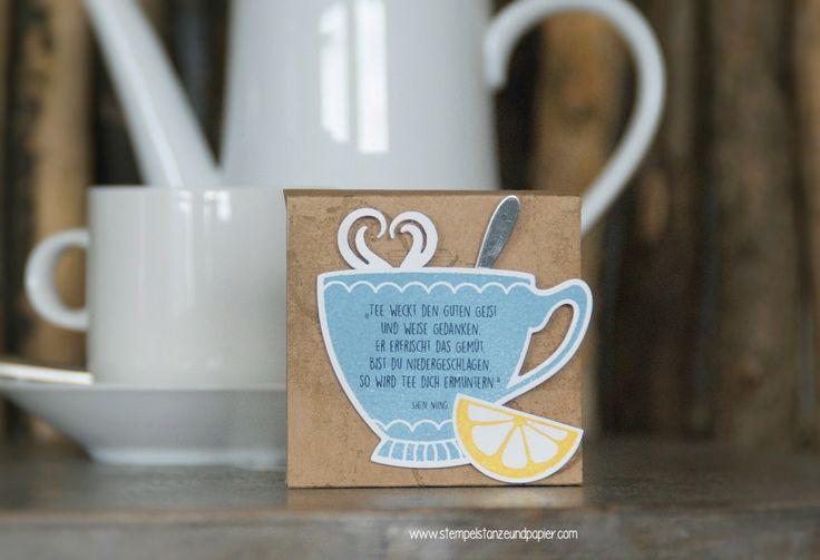 Tassen Einpacken : Die besten ideen zu tee verpacken auf