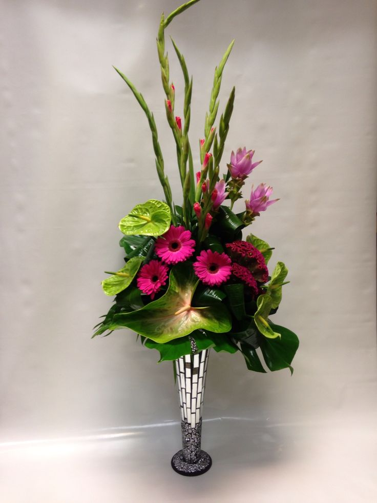 68 Best Tall Flower Arrangments Images On Pinterest Floral Arrangements Flower Arrangement