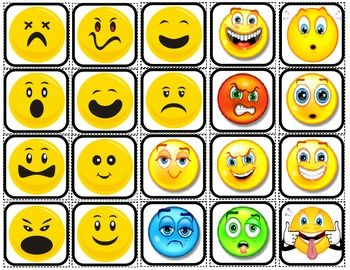 """20 2x2 """"Faces"""" picture squares.  *Use as flashcards. *Use to teach feelings and emotions. *Use as part of a communication plan. *Print two c..."""