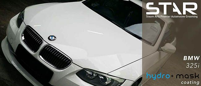 hydro-mask coating Features: - Hydrophobic Effect - High gloss - Easy maintenance