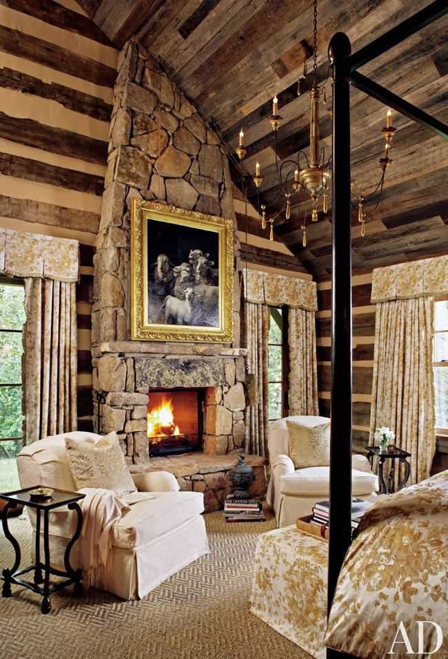 1000 Ideas About Log Home Bedroom On Pinterest Log