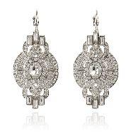 Hidden parlour silver earrings