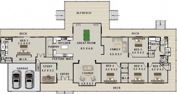6 Bedroom Townhouse Floor Plans Modernhomedecorbedroom House Plans Australia Australian House Plans Country House Plans