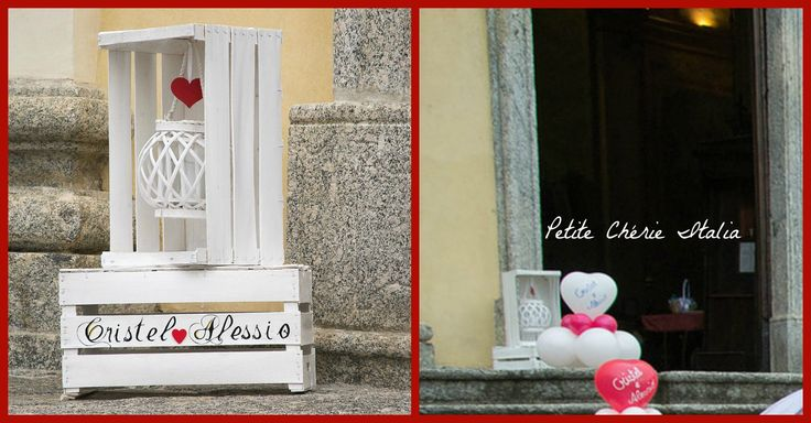 Lanterne per decorazione esterna chiesa. #matrimonio #wedding #chiesa #church #white #lantern #lanterna #outside#door
