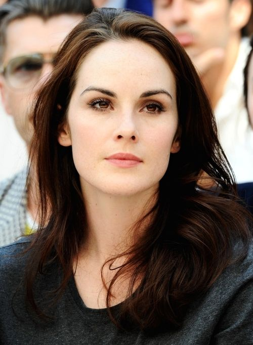 Michelle Dockery. She makes me think of a  Porcelain doll